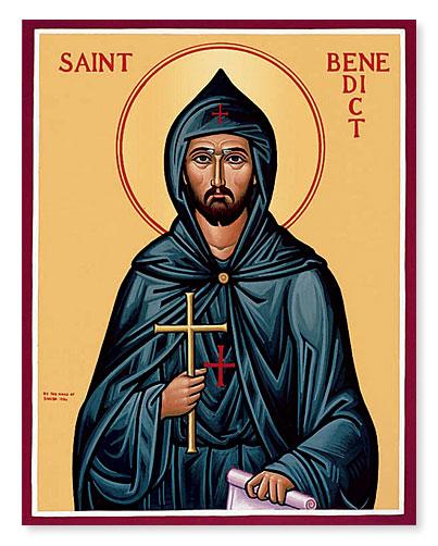 Benedict icon