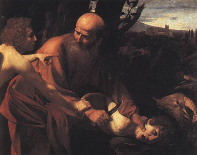 Sacrifice_of_Isaac_Caravaggio