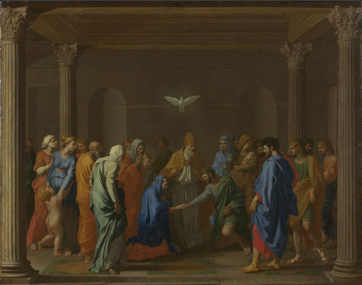 Poussin Marriage