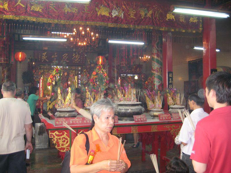 Thai chinese shrine